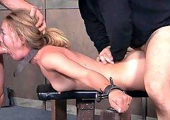 best of Dick and fuck slave masturbate bondages