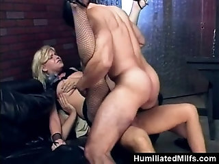 Double penetration and wife and