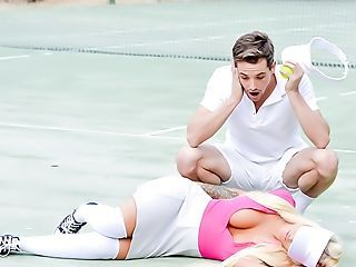 Kevorkian reccomend tennis handjob