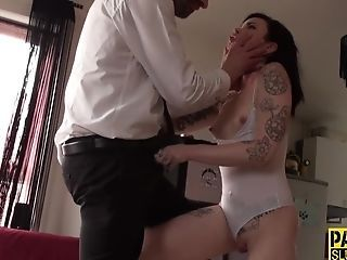 best of Fuck spanking and shaved cock masturbate