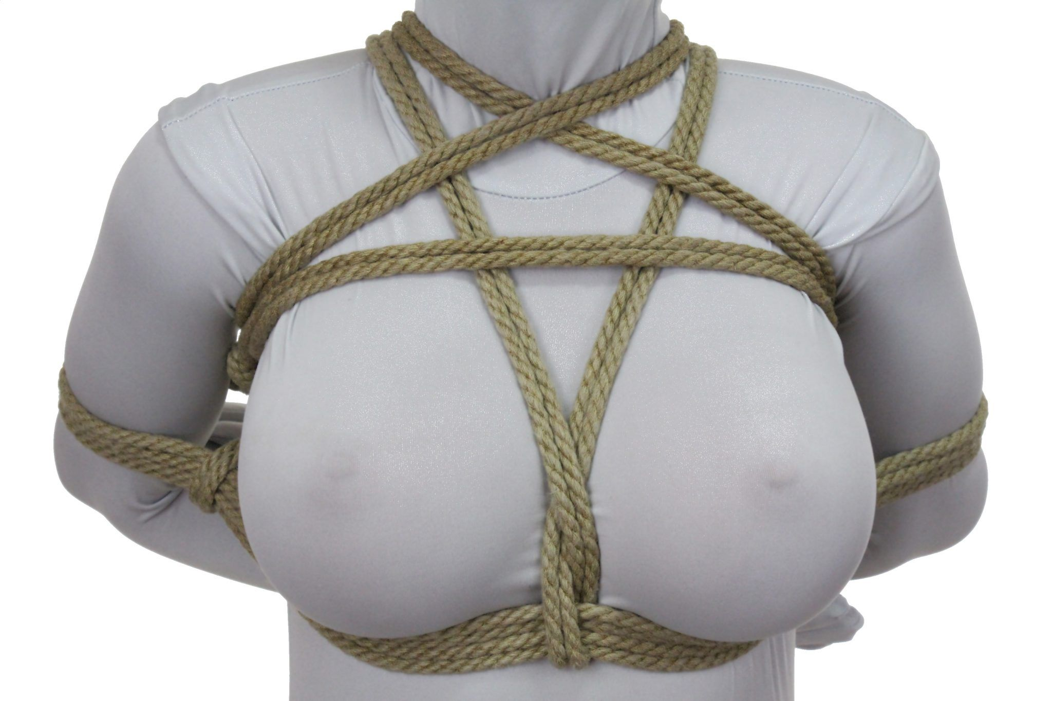 Erotic rope bondage and learning the knots