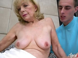 best of Granny porn facial