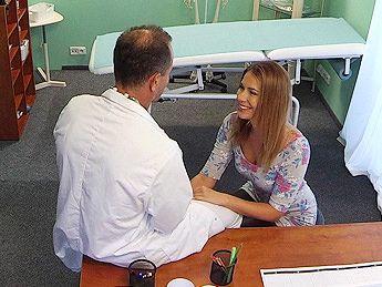 Fake hospital cheating wife