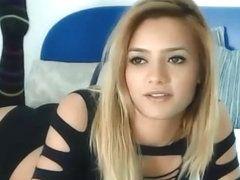 Girl strips camera