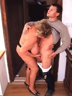 best of Big tits grandma