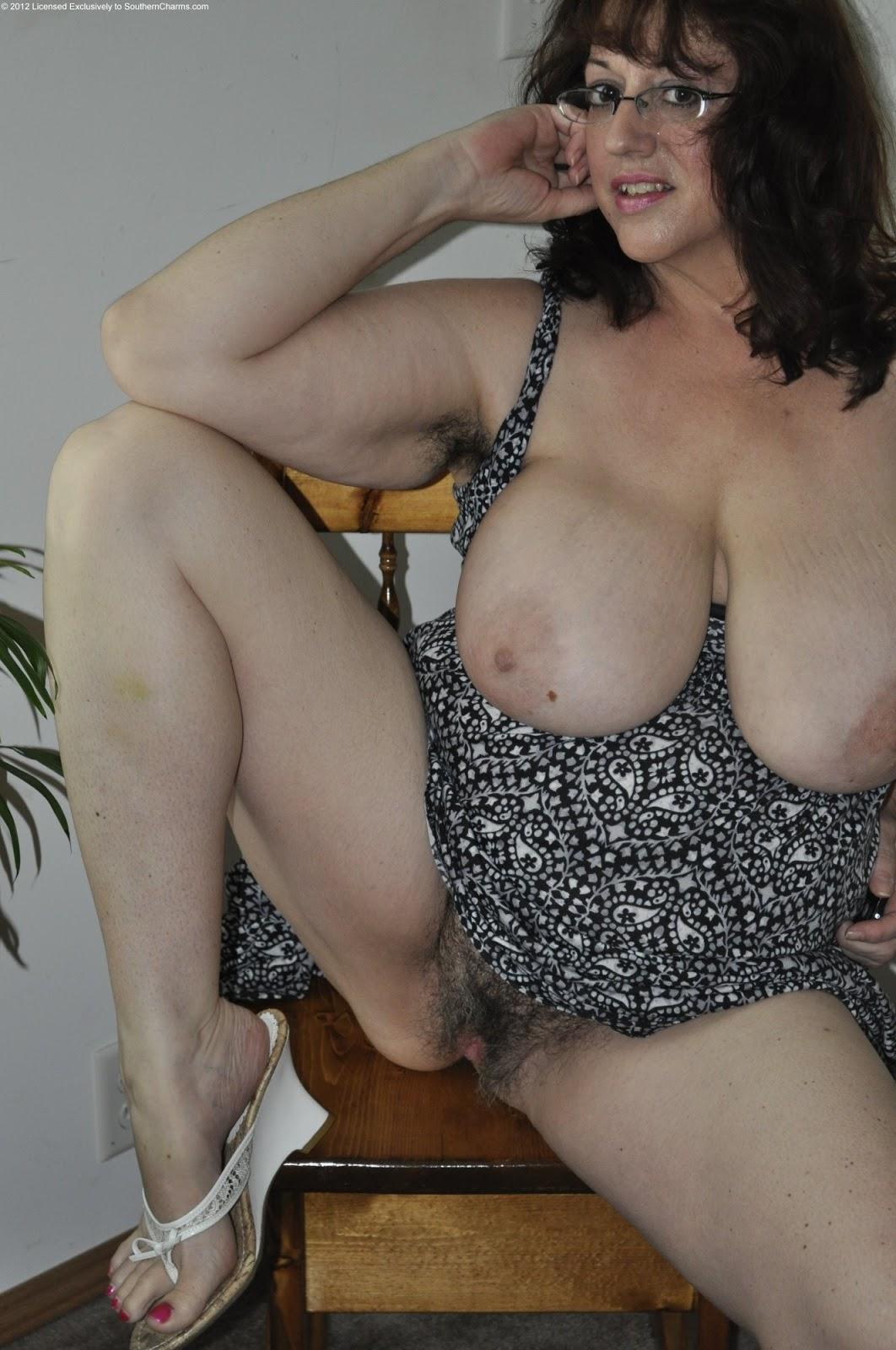 Jumbo reccomend hairy mature huge tits