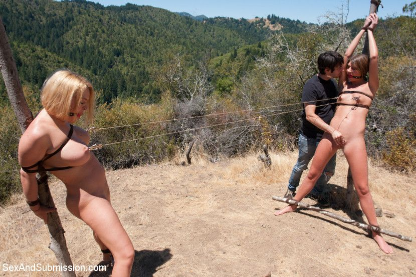 best of For Outdoor two bondage Outdoor