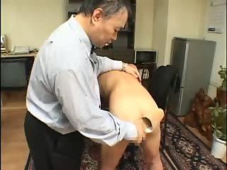 Spanking thai masturbate dick and anal