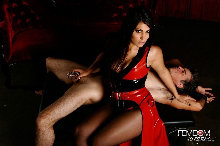 Woman punish man